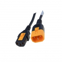 6051.2037 Cable IEC C13 female, IEC C14 male