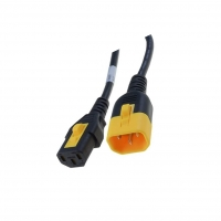 6051.2027 Cable IEC C13 female, IEC C14 male