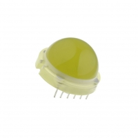 DLC-6YD LED 20mm yellow 2.5-8.3mcd