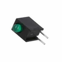 4x HLMP-1503-C00A2 LED in housing