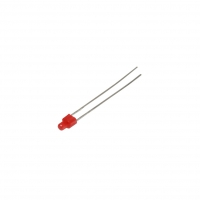 10x LL-204VD2L-1B LED 2mm red
