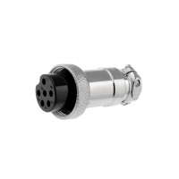 MIC326 Plug microphone female PIN6 for cable