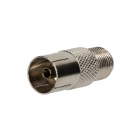 EF-322 Adapter F socket, coaxial