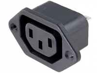 2x CS-003 Connector AC mains IEC