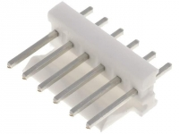 10x 640456-6 Connector wire-board