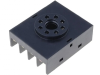 A-08 Socket PIN8 Mounting on panel