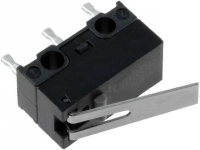 D2F-L Microswitch with lever SPDT