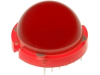 DLC-6SRD LED 20mm red 50-80mcd