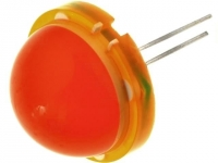 DLC2-6ED LED 20mm orange 4-13mcd