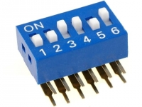DSK-06 Switch DIP-SWITCH Poles