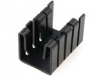 2x HS-010 Heatsink moulded TO220