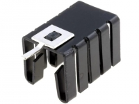 2x HS-011 Heatsink moulded TO220
