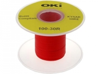 KYNAR30AWG100MR Cable solid OFC
