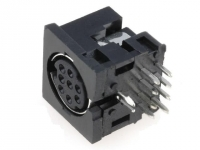 2x MDC-208 Socket DIN mini female