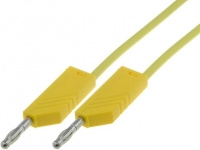 MLNSIL100/1GE Test lead silicone 1m yellow
