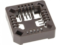 4x PLCC-20-SMD Socket PLCC PIN20 phosphor