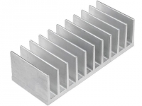 RAD-A5724/50 Heatsink extruded grilled L50mm