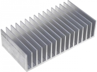 RAD-A6023/100 Heatsink extruded grilled