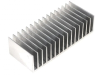 RAD-A6023/80 Heatsink extruded grilled L80mm