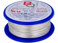 SCW-0.50/100 Silver plated wires