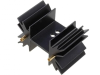 SK129-25STS Heatsink extruded