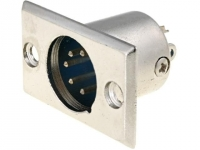 XLR-5W-C Socket XLR male PIN5