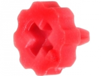 20x CA66001R Knob with pointer red