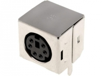 2x MDC-206E Socket DIN mini female