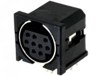 2x MDC-209 Socket DIN mini female