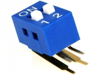 2x DSK-02 Switch DIP-SWITCH Poles
