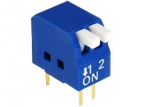 2x DP-02 Switch DIP-SWITCH Poles