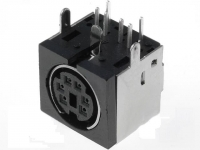 4x MDC-206 Socket DIN mini female