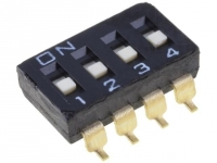 A6S-4102-H Switch DIP-SWITCH Poles