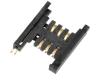115J-ACO0 Connector for cards SIM