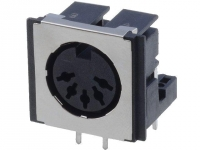 FM6725 Socket DIN female shielded