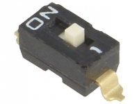 2x A6S-1104-H Switch DIP-SWITCH