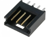 2x 280371-2 Socket wire-board male