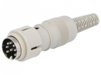 MAS8100S Plug DIN male PIN8 Pin