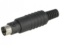 MP-371/S4 Plug DIN mini male PIN4