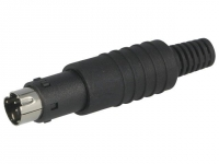 MP-371/S6 Plug DIN mini male PIN6
