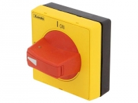 GAX62 Knob Colour red/yellow
