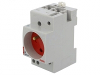 004282 E-type socket 10A Mounting