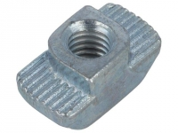 2x GN505-10-M6-OB Nut for profiles