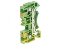 2x DS4-PE Splice terminal rail DS
