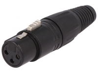 FC6141 Plug XLR female PIN3