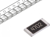 20x SMD2010-47K-1% Resistor thick