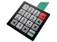QW-01 Keypad membrane Number of