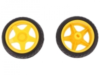 DF-FIT0003 Wheel yellow-black