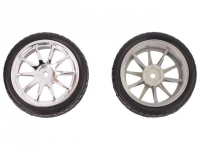 DF-FIT0199-S Wheel silver Shaft