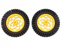 DF-FIT0336 Wheel yellow-black